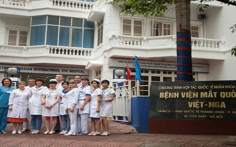 Bệnh Viện Mắt Quốc Tế Việt – Nga