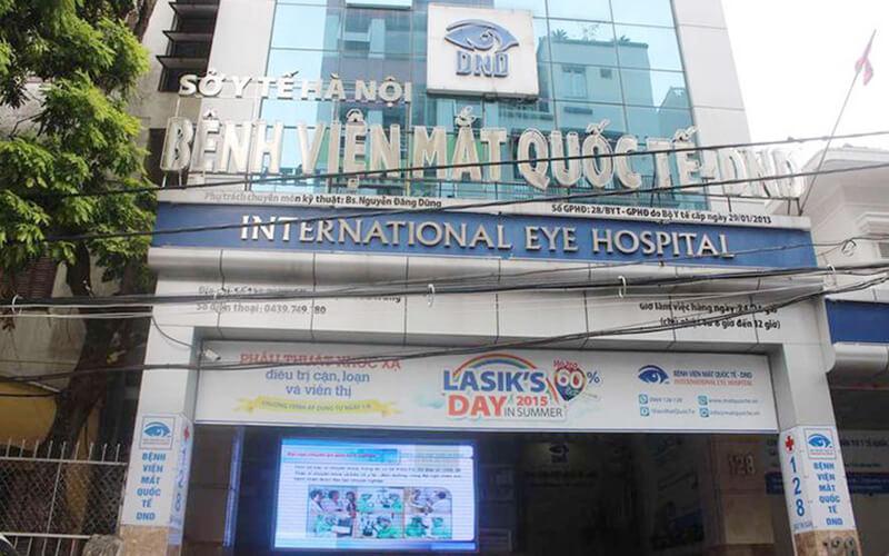 Bệnh Viện Mắt Quốc Tế Dnd