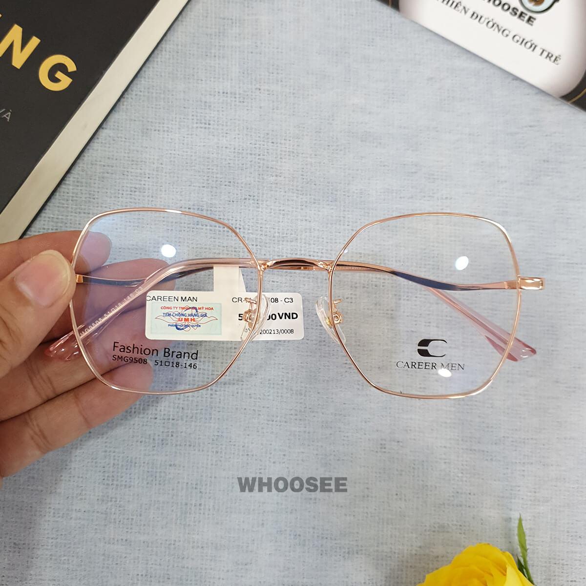 Gọng kính cận Career Men CR9508