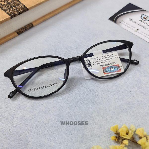 gọng kính cận form mắt mèo cho nữ ef90452 c710 exfash