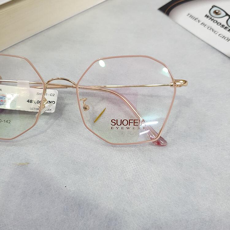 Gọng kính cận kim loại SH731–Suofeia