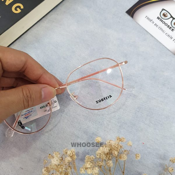 Gọng kính cận kim loại SH9902-Suofeia