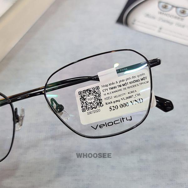 Gọng Kính Cận Kim Loại Vl26887 C01 Velocity