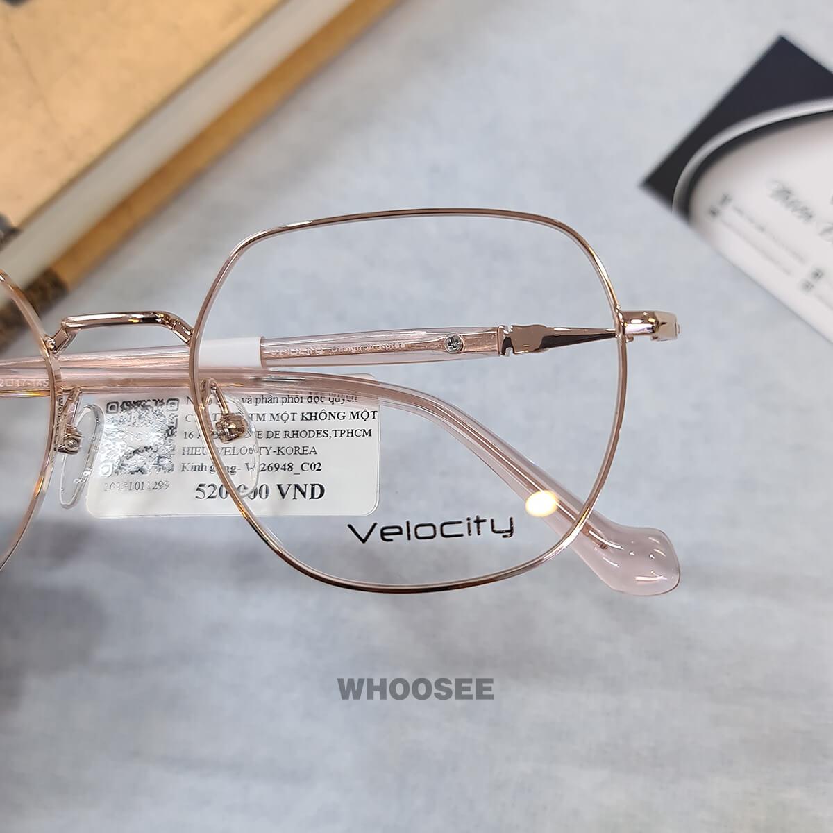 Gọng Kính Cận Kim Loại Vl26948 C02 Velocity