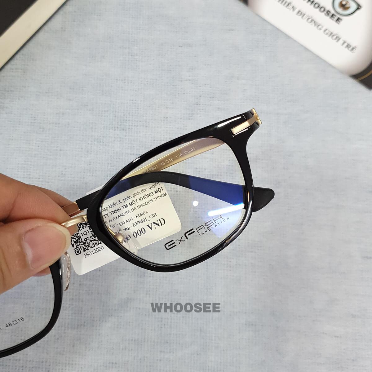 Gọng kính cận nam EF9601–Exfash