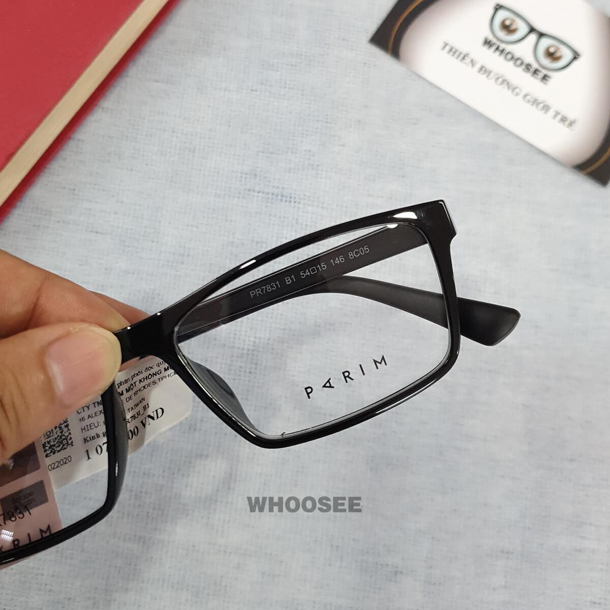 Gọng kính cận nam PR7381 Parim
