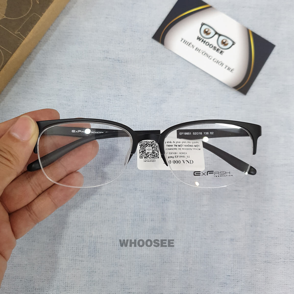 Gọng kính cận nhựa EF19951–Exfash