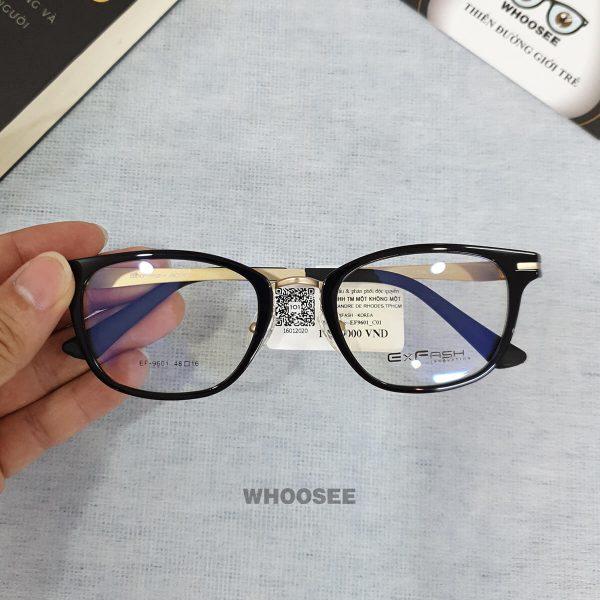 Gọng kính cận nhựa EF9601–Exfash