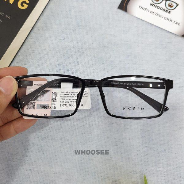 Gọng kính cận nhựa PR7845 Parim