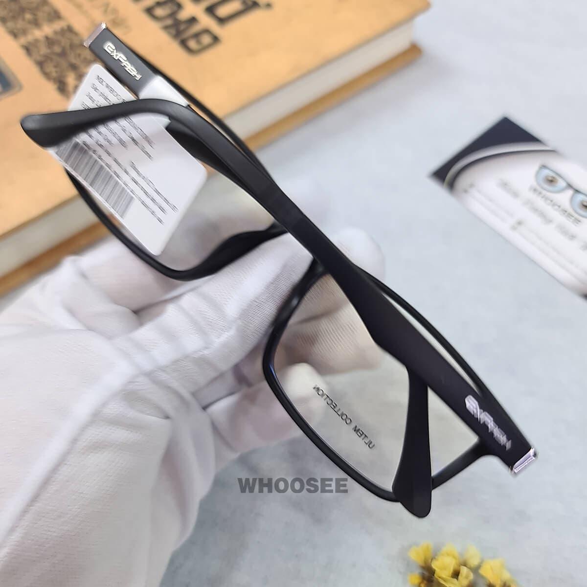 gọng kính cận nhựa dẻo ef68472 c026 exfash