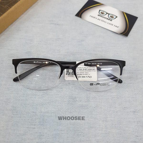 Gọng kính cận nhựa nam EF19951–Exfash