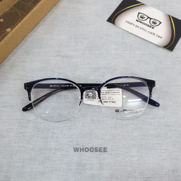 Gọng kính cận nhựa nữ EF19952–Exfash