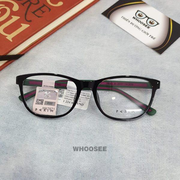 Gọng kính cận nhựa unisex PR7871-Parim