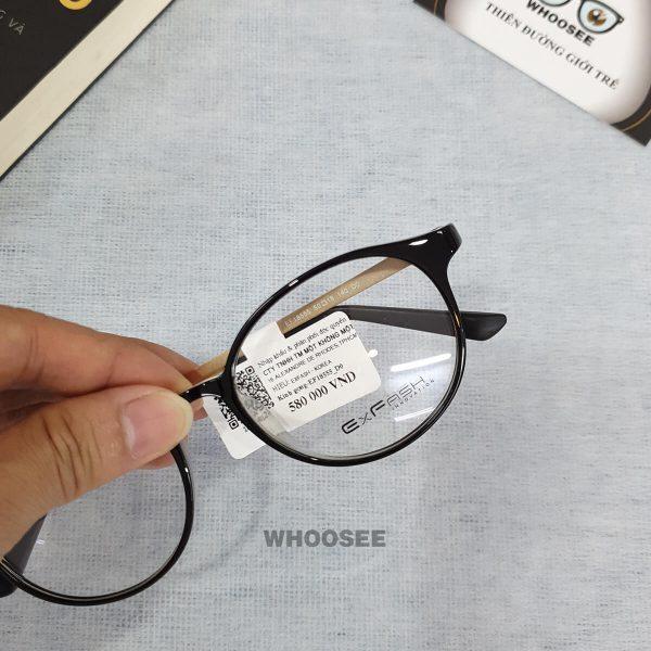 Gọng kính cận nữ EF18555 D0 Exfash