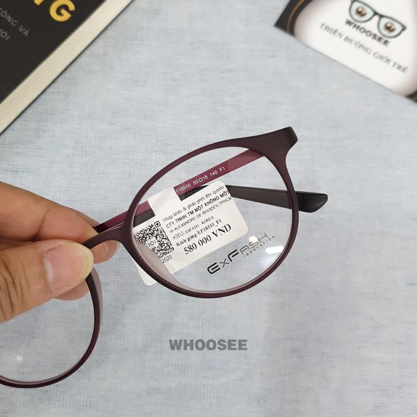 Gọng kính cận nữ EF18555 F1 Exfash