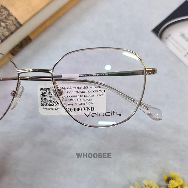 Gọng Kính Cận Vuông Bầu Vl26867 C04 Velocity