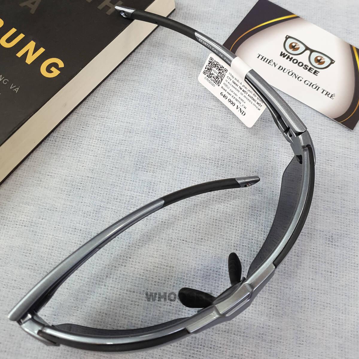 kính mát thể thao màu xám bạc ef58771 c41 exfash