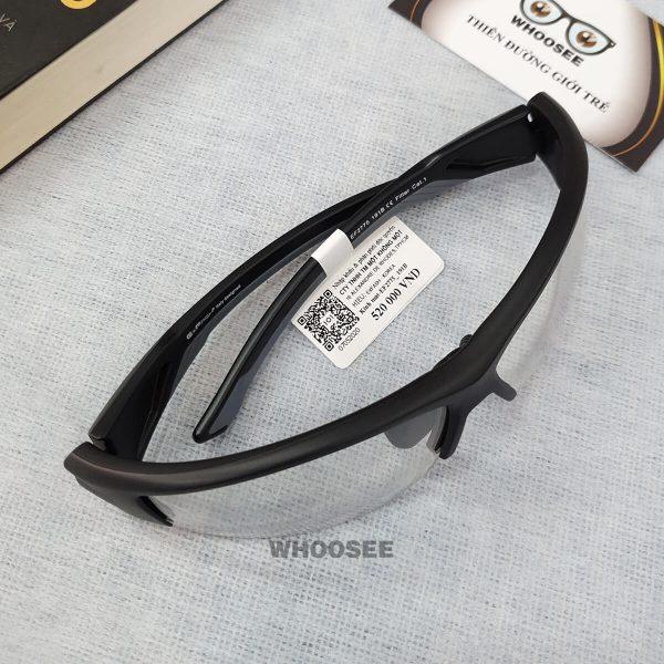 kính mát thể thao nam màu đen nhám ef2775 191b exfash