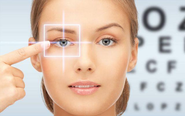 chăm sóc mắt sau khi mổ mắt cận thị relex smile